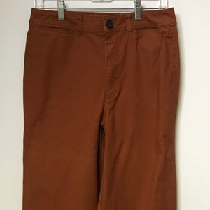 MADEWELL High Rise Wide Leg Crop Pants Size 29